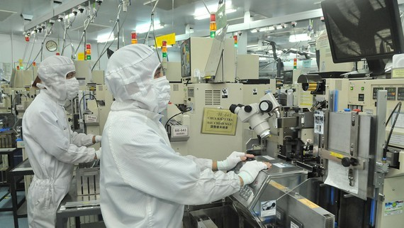 A Japanese-invested firm in Vietnam (Photo: SGGP)