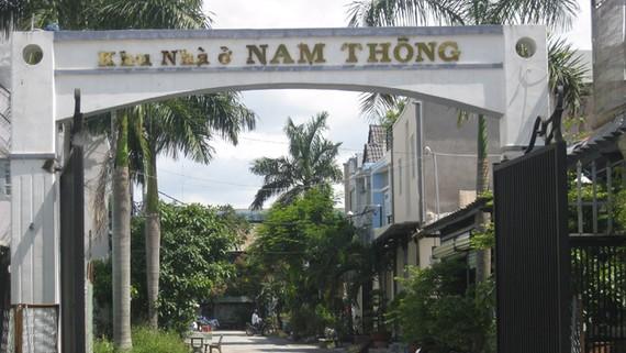Một khu dân cư trên đường Trần Văn Mười (huyện Hóc Môn) khá khang trang, phục vụ nhu cầu người thu nhập thấp được hình thành từ quy định tách thửa của TPHCM