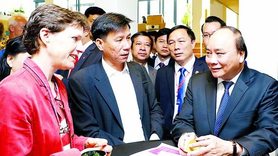 Thủ tướng Nguyễn  Xuân Phúc thăm  Trường Đại học Wageningen, Hà Lan