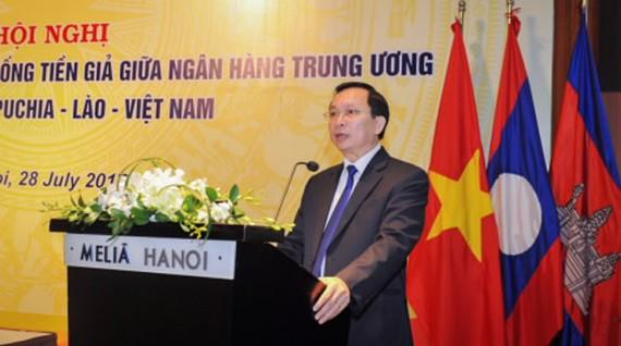 Phó Thống đốc NHNNVN Đào Minh Tú phát biểu tại hội nghị