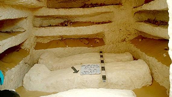 Ai Cập phát hiện khu lăng mộ cổ đại