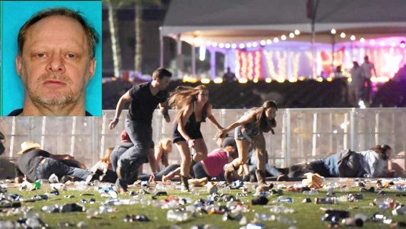 Stephen Paddock và hiện trường vụ xả súng