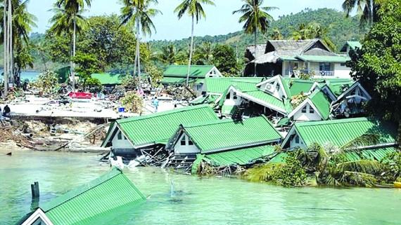 14 triệu người mất nhà vì lũ lụt
