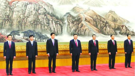 7 ủy viên Thường vụ Bộ Chính trị Đảng Cộng sản Trung Quốc khóa 19