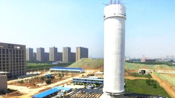 Trung Quốc xây tháp lọc không khí