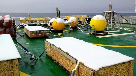 Robot đo băng tan ở Nam cực