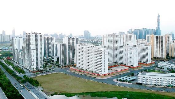 Cao ốc tái định cư tại quận 2. Ảnh: CAO THĂNG