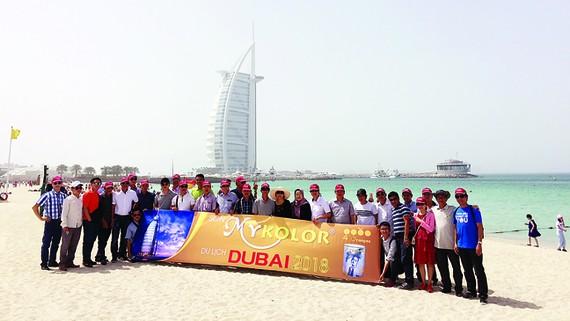 Đoàn BenThanh Tourist tại Dubai
