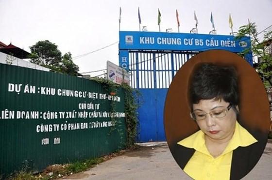 Bà Châu Thị Thu Nga và dự án B5 Cầu Diễn