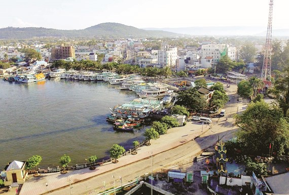 Một góc Thị trấn Dương Đông
