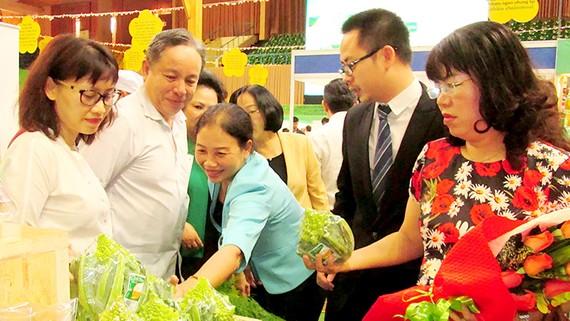 Sản phẩm của Công ty Đầu tư phát triển sản xuất nông nghiệp VinEco - một trong những đơn vị tham gia hội chợ ThaiFex