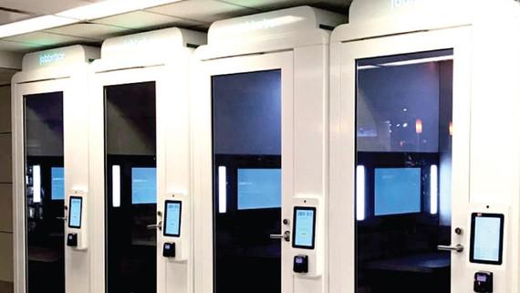 Buồng riêng tư ở sân bay