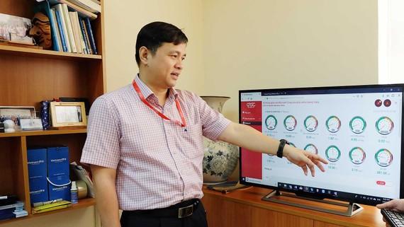 Ông Lâm Nguyễn Hải Long, Giám đốc QTSC,  giới thiệu về chức năng của IOC