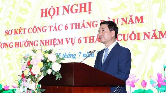 Bộ trưởng Bộ TT-TT Nguyễn Mạnh Hùng