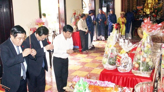 Đất võ tổ chức lễ giỗ Hoàng đế Quang Trung