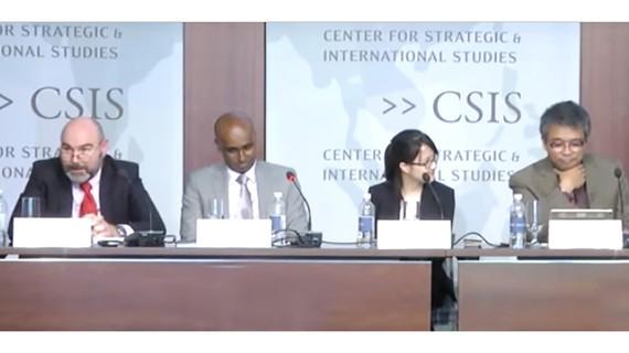 Hội thảo biển Đông lần thứ 9 do Trung tâm nghiên cứu chiến lược và quốc tế (CSIS)  tổ chức tại Mỹ
