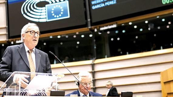 Chủ tịch Ủy ban châu Âu Jean-Claude Juncker tuyên bố Anh và EU đạt thỏa thuận Brexit mới