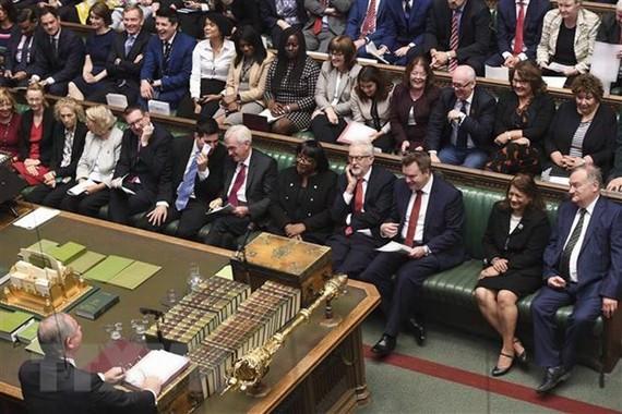 Một cuộc họp của Quốc hội Anh ở London. Ảnh:THX/TTXVN