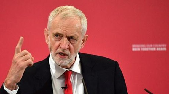 Chủ tịch Công đảng Anh Jeremy Corbyn