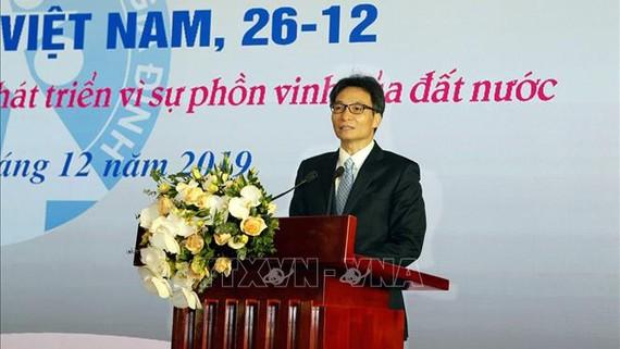 Phó Thủ tướng Vũ Đức Đam phát biểu chỉ đạo hội nghị. Ảnh: TTXVN