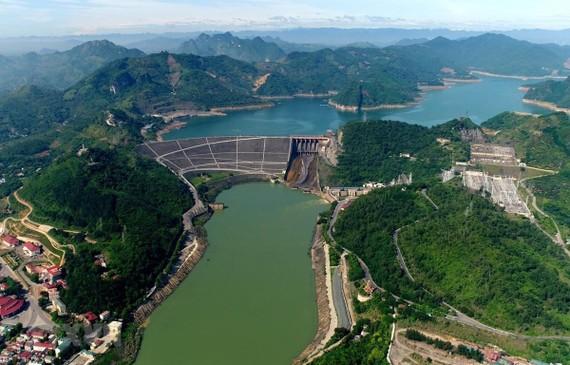 Công trình thủy điện Hòa Bình. Ảnh: TTXVN