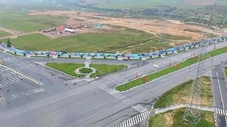 Khu đất 43ha đang thực hiện Khu đô thị Tân Phú