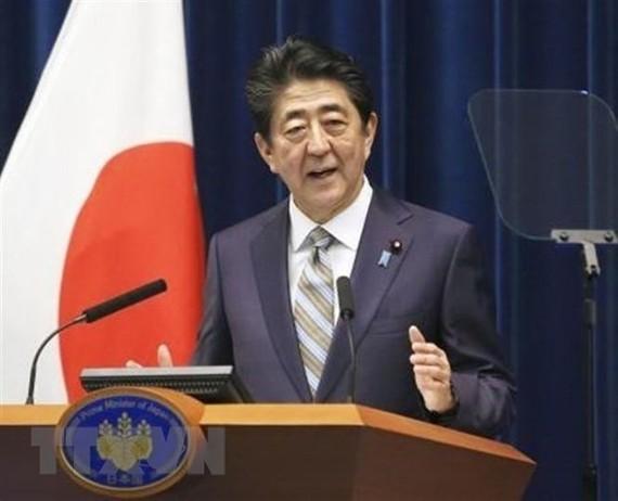 Thủ tướng Nhật Bản Shinzo Abe. Ảnh: Kyodo/TTXVN