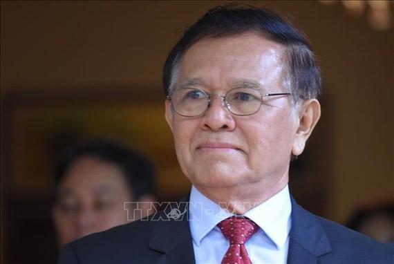 Ông Kem Sokha tại Phnom Penh, Campuchia ngày 11-11-2019. Ảnh: AFP/TTXVN