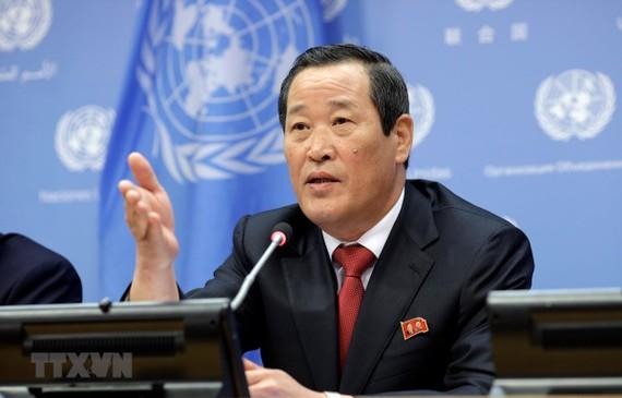 Đại sứ Triều Tiên tại LHQ Kim Song. Ảnh: THX/TTXVN