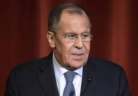 Ngoại trưởng Nga Sergey Lavrov. Ảnh: tasnimnews