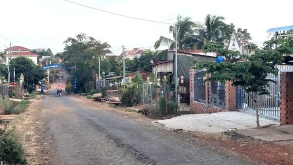 Thôn Đắk Xuyên - nơi có căn cứ Nửa Lon - giờ là khu dân cư trù phú