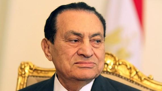 Cựu Tổng thống Ai Cập Hosni Mubarak. Ảnh: Sky News
