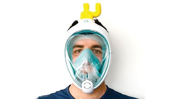 Biến mặt nạ lặn thành thiết bị trợ thở