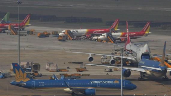 Các hãng hàng không tận dụng máy bay chở khách để chở hàng hóa. Ảnh: CAO THĂNG