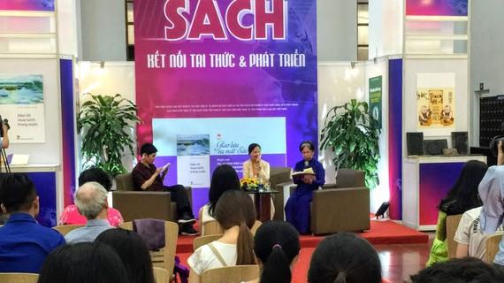 Giao lưu với tác giả Thái Kim Lan tại  Thư viện Quốc gia Việt Nam nhân Ngày Sách Việt Nam 2019