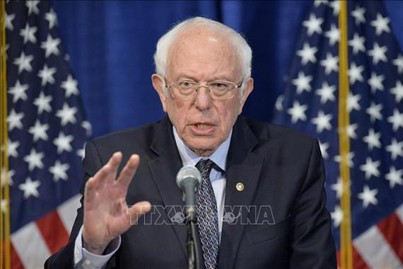Thượng Nghị sĩ bang Vermont Bernie Sanders.  Ảnh: AFP/TTXVN