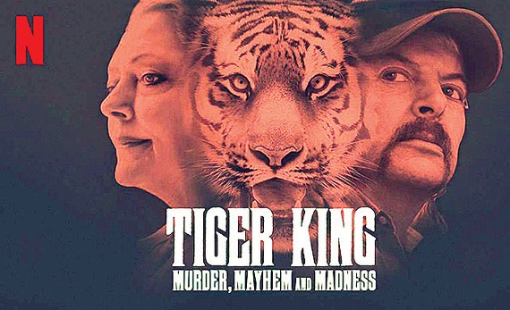 Phim về Vua hổ gây sốt trên Netflix