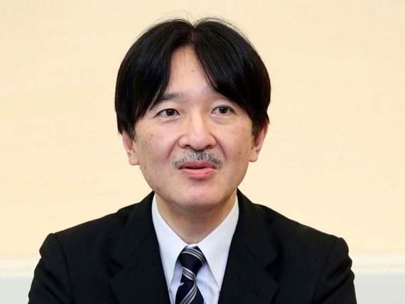Thái tử Akishino. Nguồn: AP
