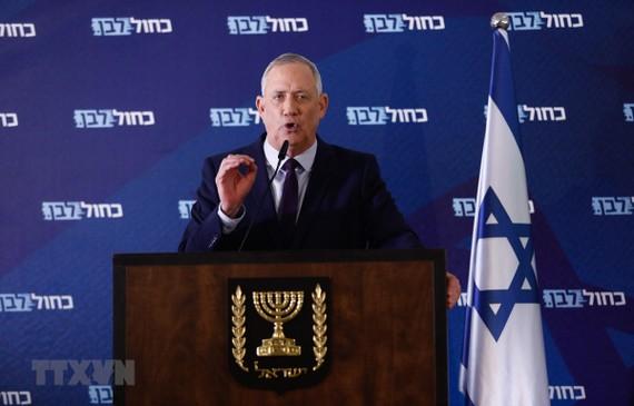 Chủ tịch Quốc hội Israel Benny Gantz. Ảnh: THX/TTXVN