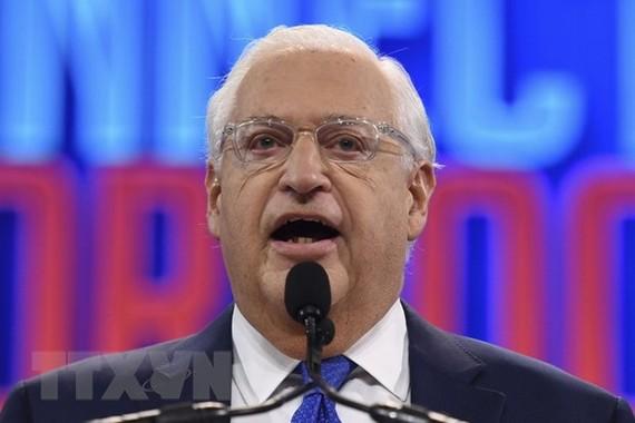 Đại sứ Mỹ tại Israel David Friedman. Ảnh: AFP/TTXVN