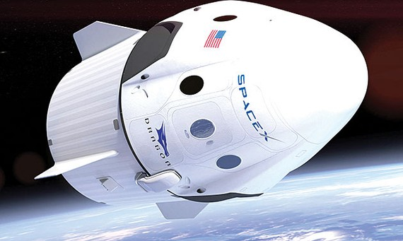 NASA phóng tàu Crew Dragon  vào tháng 5