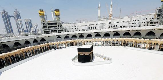 Thánh địa Mecca những ngày bị phong tỏa