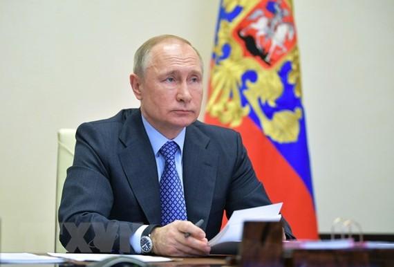 Tổng thống Nga Vladimir Putin. Ảnh: THX/ TTXVN