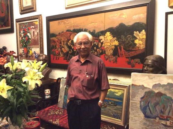 Họa sĩ Trần Khánh Chương, người cả cuộc đời gắn bó  với sự trưởng thành của Hội Mỹ thuật Việt Nam