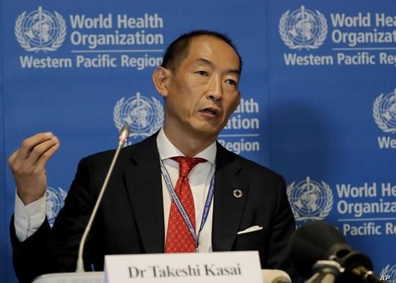 Giám đốc WHO khu vực Tây Thái Bình Dương, ông Takeshi Kasai. Ảnh: Awarak