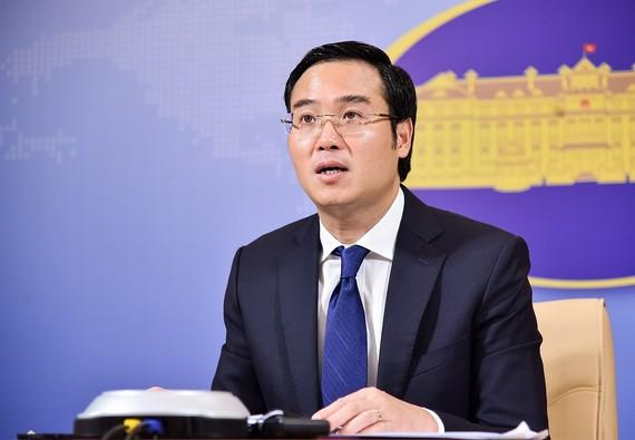 Phó Phát ngôn Bộ Ngoại giao Việt Nam Ngô Toàn Thắng. Ảnh: BNG