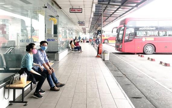 Thưa thớt hành khách về các bến xe tại TPHCM