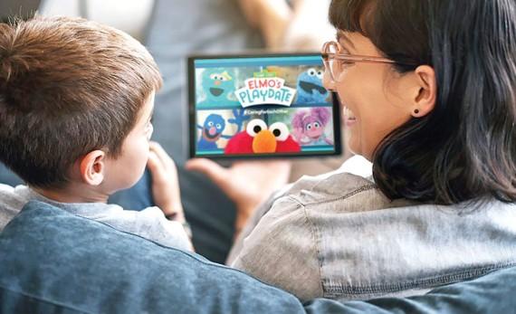 Chương trìnhSesame Street: Elmo's Playdate bổ ích cho trẻ em thời kỳ dịch Covid-19