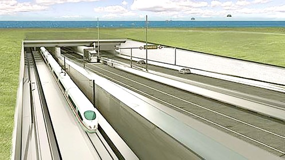 Xây dựng đường hầm vượt biển  dài nhất thế giới