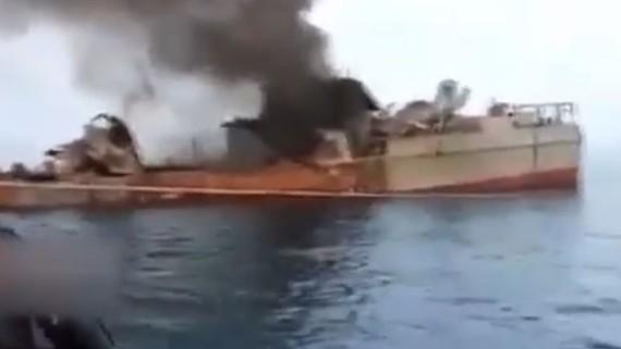 Tàu Konarak bị bắn nhầm